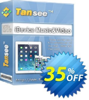 Tansee iOS Music&Video Transfer Coupon, discount Tansee discount codes 13181. Promotion: 13181-3
