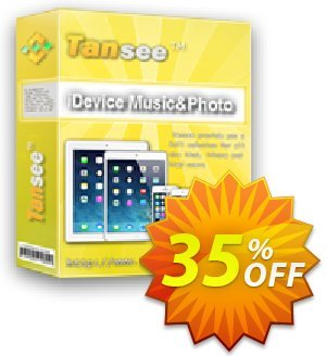 Tansee iOS Music & Photo Transfer 優惠券,折扣碼 Tansee discount codes 13181,促銷代碼: 13181-3