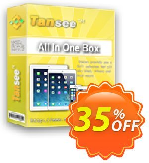 Tansee All in One Box Coupon discount Tansee discount codes 13181 - 13181-3
