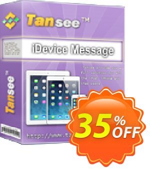 Tansee iOS Message Transfer for Mac (1 year) Coupon, discount Tansee discount codes 13181. Promotion: Tansee discount coupon (13181)