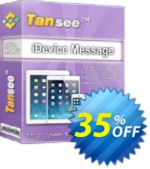 Tansee iOS Message Transfer (1 year) 優惠券,折扣碼 Tansee discount codes 13181,促銷代碼: Tansee discount coupon (13181)