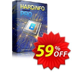 HARDiNFO 8 PRO Coupon, discount HARDiNFO 8 Upgrade 60%. Promotion: Upgrade to HARDiNFO 7 Professional with 50% Discount