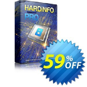 HARDiNFO 8 PRO Coupon, discount HARDiNFO 8 Upgrade 65%. Promotion: Upgrade to HARDiNFO 7 Professional with 50% Discount