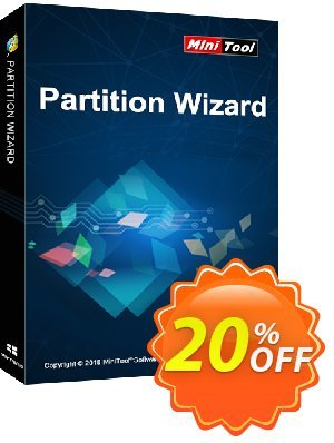 MiniTool Partition Wizard Server Coupon, discount 20% off. Promotion: reseller 20% off