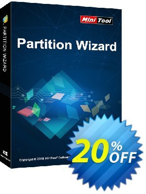 MiniTool Partition Wizard Server + Lifetime upgrade Coupon discount 20% off -