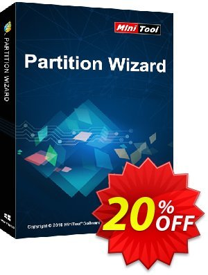 Partition Wizard Enterprise (Lifetime Upgrade) 優惠券,折扣碼 20% off,促銷代碼: reseller 20% off