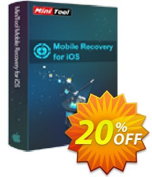 MiniTool Mobile Recovery for iOS Lifetime Coupon, discount 20% off. Promotion: