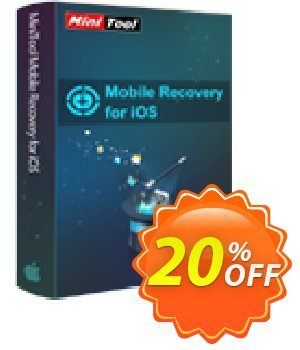 MiniTool iOS Mobile Recovery for Mac standard 優惠券,折扣碼 20% off,促銷代碼: