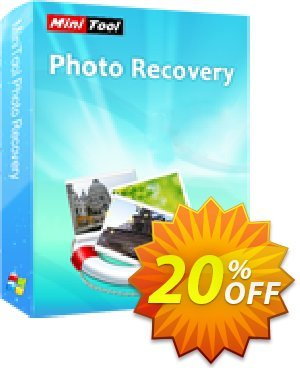 MiniTool Photo Recovery Coupon, discount 20% off. Promotion: