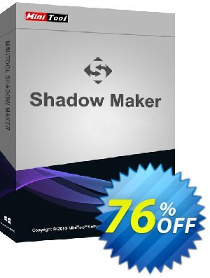 MiniTool ShadowMaker Pro Coupon, discount 20% off. Promotion: