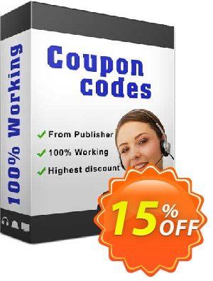 EasierSoft 6in1 Barcode Generator Coupon discount EasierSoft discount (14591). Promotion: EasierSoft discount offer (14591)