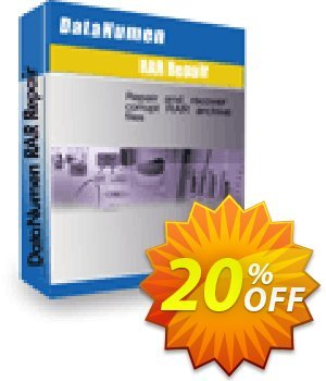 DataNumen RAR Repair Coupon, discount Post Order Coupon. Promotion: Coupon for educational and non-profit organizations