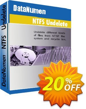 Advanced NTFS Undelete Coupon, discount Post Order Coupon. Promotion: Coupon for educational and non-profit organizations