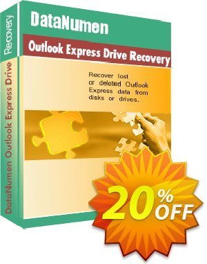 DataNumen Outlook Express Drive Recovery Coupon, discount Education Coupon. Promotion: Coupon for educational and non-profit organizations