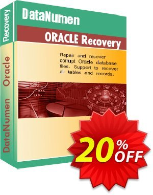 DataNumen Oracle Recovery 프로모션 코드 Education Coupon 프로모션: Coupon for educational and non-profit organizations