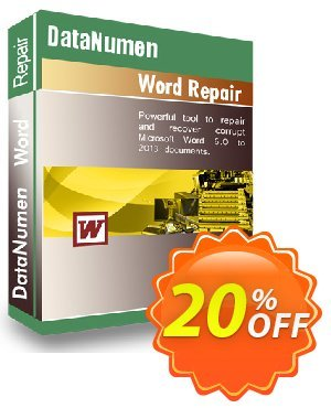 DataNumen Word Repair割引コード・Education Coupon キャンペーン:Coupon for educational and non-profit organizations
