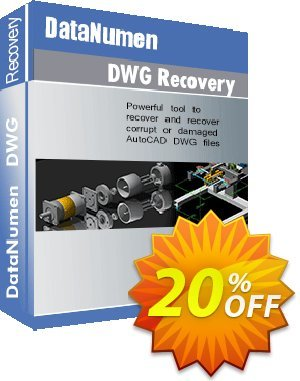 DataNumen DWG Recovery Coupon, discount Post Order Coupon. Promotion: Coupon for educational and non-profit organizations