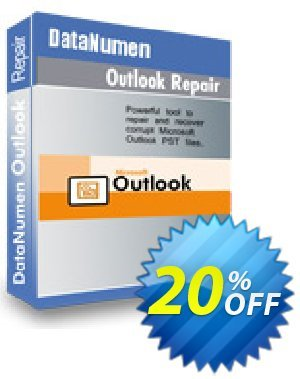 DataNumen Outlook Repair 64bit Coupon, discount Post Order Coupon. Promotion: Coupon for educational and non-profit organizations
