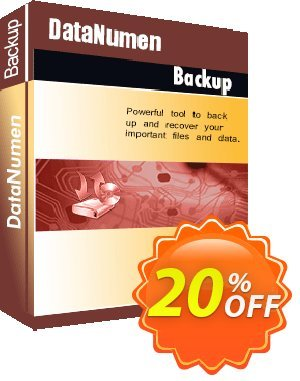 DataNumen Backup Coupon discount Education Coupon. Promotion: Coupon for educational and non-profit organizations