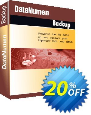 DataNumen Backup Coupon, discount Education Coupon. Promotion: Coupon for educational and non-profit organizations