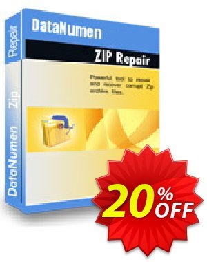 DataNumen Zip Repair Coupon, discount Post Order Coupon. Promotion: Coupon for educational and non-profit organizations