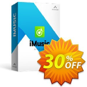 iMusic Coupon discount 25OOF 15969 Aimersoft - Buy iMusic using our exclusive coupon