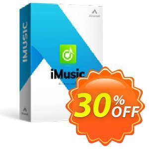 iMusic for Mac Coupon discount 25OOF 15969 Aimersoft - Buy iMusic for MAC using exclusive coupon discount