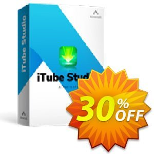 iTube Studio for Mac Coupon, discount 25OOF 15969 Aimersoft. Promotion: