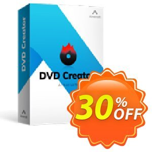 Aimersoft DVD Creator for Windows 宣传代码 91165 DVD Creator 30%OFF. 优惠券:
