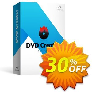 Aimersoft DVD Creator for Mac Coupon, discount 25OOF 15969 Aimersoft. Promotion: