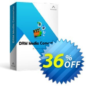 Aimersoft DRM Media Converter for Windows Coupon discount 25OOF 15969 Aimersoft -