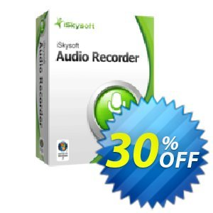 iSkysoft Audio Recorder Coupon, discount iSkysoft Audio Recorder dreaded sales code 2020. Promotion: dreaded sales code of iSkysoft Audio Recorder 2020