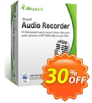 iSkysoft Audio Recorder for Mac Coupon, discount iSkysoft Audio Recorder for Mac excellent deals code 2020. Promotion: excellent deals code of iSkysoft Audio Recorder for Mac 2020
