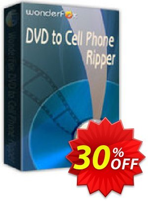 WonderFox DVD to Cell Phone Ripper Coupon, discount WonderFox DVD to Cell Phone Ripper awful discounts code 2021. Promotion: awful discounts code of WonderFox DVD to Cell Phone Ripper 2021