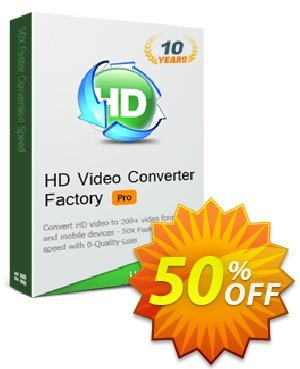 WonderFox HD Video Converter Factory Pro Coupon discount WonderFox HD Video Converter Factory Pro discount - WonderFox 10-Year Anniversary Offer