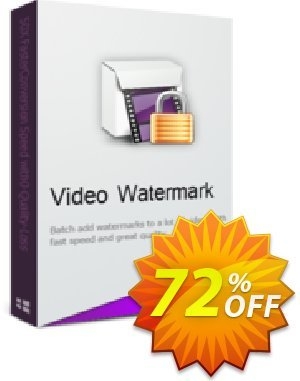 WonderFox Video Watermark Coupon, discount WonderFox Video Watermark big discount code 2019. Promotion: big discount code of WonderFox Video Watermark 2019