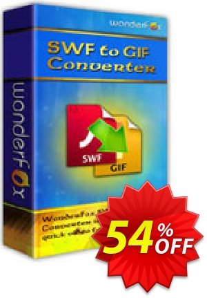 WonderFox SWF to GIF Converter Coupon, discount WonderFox SWF to GIF Converter exclusive promotions code 2021. Promotion: exclusive promotions code of WonderFox SWF to GIF Converter 2021