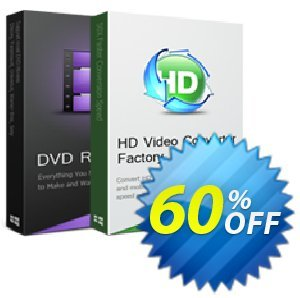HD Video Converter Factory Pro + WonderFox DVD Ripper Pro Coupon, discount HD Video Converter Factory Pro + WonderFox DVD Ripper Pro best discount code 2019. Promotion: super offer code of HD Video Converter Factory Pro + WonderFox DVD Ripper Pro 2019