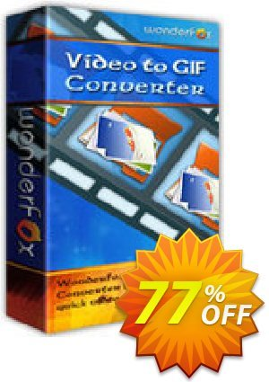 WonderFox Video to GIF Converter Coupon, discount WonderFox Video to GIF Converter fearsome promotions code 2019. Promotion: fearsome promotions code of WonderFox Video to GIF Converter 2019
