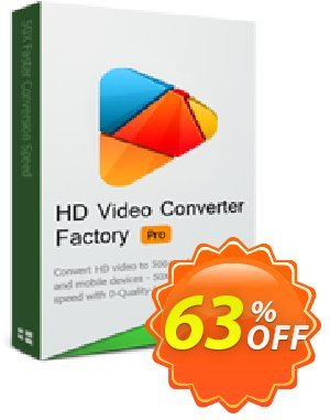 WonderFox HD Video Converter Factory Pro (Family Pack) Coupon, discount HD Video Converter Factory Pro discount. Promotion: WonderFox coupon codes discount for HD Video Converter Factory Pro Family Pack