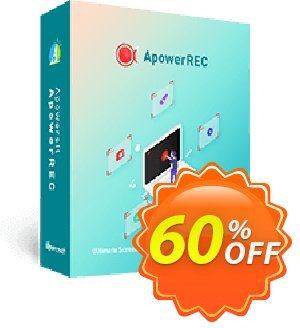 Screen Recorder Pro Yearly Coupon discount Apowersoft Screen Recorder Pro Personal License (Yearly Subscription) staggering offer code 2020 - Apower soft (17943)