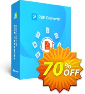 Apowersoft PDF Converter Personal License discount coupon PDF Converter Personal License (Yearly Subscription) excellent promotions code 2020 - excellent promotions code of PDF Converter Personal License (Yearly Subscription) 2020