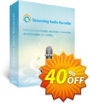 Streaming Audio Recorder Family License (Lifetime) discount coupon Streaming Audio Recorder Family License (Lifetime) amazing offer code 2020 - amazing offer code of Streaming Audio Recorder Family License (Lifetime) 2020