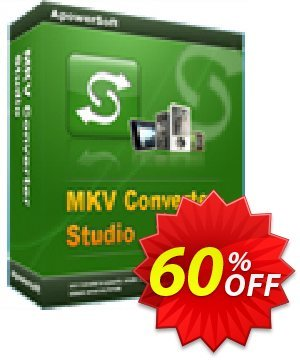 MKV Converter Studio Personal License Coupon, discount MKV Converter Studio Personal License awesome discount code 2019. Promotion: awesome discount code of MKV Converter Studio Personal License 2019
