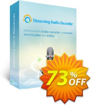Streaming Audio Recorder Lifetime Coupon, discount Streaming Audio Recorder Personal License (Lifetime Subscription) super promotions code 2019. Promotion: amazing discounts code of Streaming Audio Recorder Personal License (Lifetime Subscription) 2019