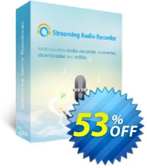 Streaming Audio Recorder Business Yearly Coupon, discount Streaming Audio Recorder Commercial License (Yearly Subscription) big deals code 2019. Promotion: best sales code of Streaming Audio Recorder Commercial License (Yearly Subscription) 2019