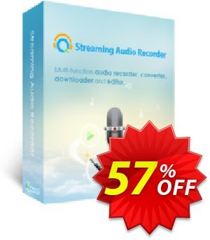 Streaming Audio Recorder Business Lifetime Coupon, discount Streaming Audio Recorder Commercial License (Lifetime Subscription) hottest offer code 2019. Promotion: big deals code of Streaming Audio Recorder Commercial License (Lifetime Subscription) 2019