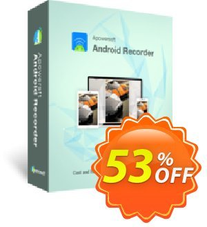 Apowersoft Android Recorder Business Yearly Coupon, discount Apowersoft Android Recorder Commercial License (Yearly Subscription) awful discount code 2019. Promotion: awful offer code of Apowersoft Android Recorder Commercial License (Yearly Subscription) 2019