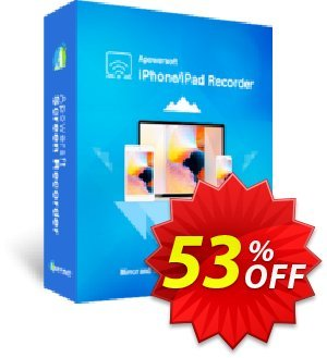 Apowersoft iPhone/iPad Recorder Business Yearly Coupon, discount Apowersoft iPhone/iPad Recorder Commercial License (Yearly Subscription) amazing discounts code 2019. Promotion: awful promo code of Apowersoft iPhone/iPad Recorder Commercial License (Yearly Subscription) 2019