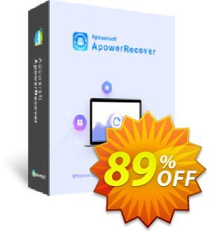 ApowerRecover Monthly discount coupon ApowerRecover Personal License (Monthly Subscription) Staggering sales code 2020 - Staggering sales code of ApowerRecover Personal License (Monthly Subscription) 2020
